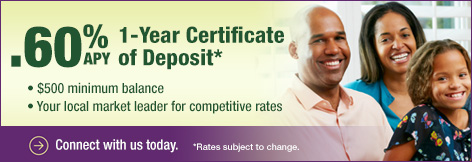 Faith Community CU Certificate of Deposit
