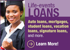 Faith Community CU Life Event Loans